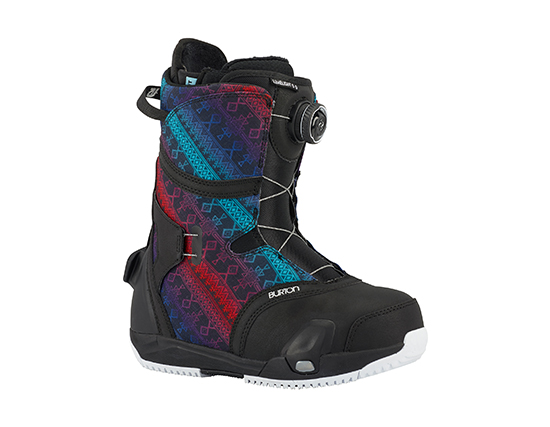 Bota Step On Limelight Black Multi